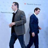 Umgang mit Identitären belastet die Koalitionsharmonie