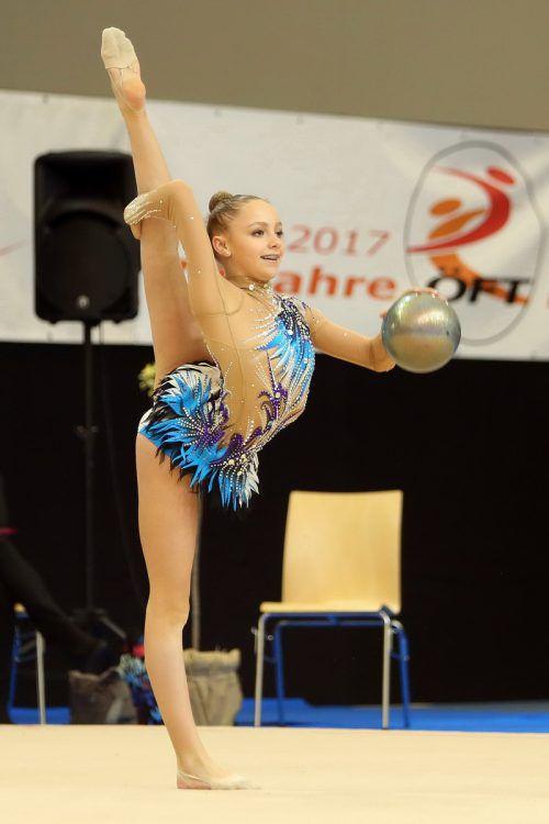 Teresa Welzig von der TS Hohenems ist bereits fix für die Europameisterschaft Mitte Mai in Aserbaidschan qualifiziert.ÖFT