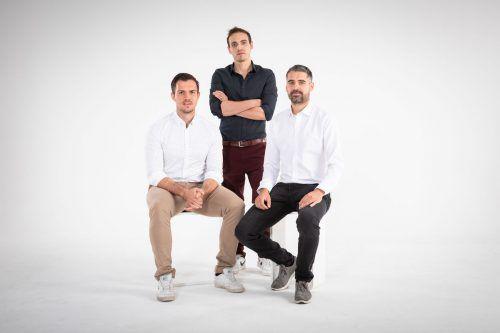 TOWA-Führungsteam Florian Wassel, Matteo Ender und Benjamin Meier. Fa/Fasching