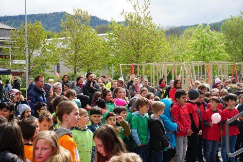 Trotz des schlechten Wetters war das Vorklöschtner Fescht in Bregenz gut besucht. ama