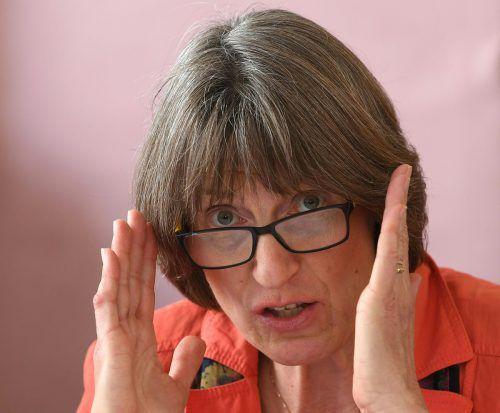 """Unsere Wertehaltungen wurden medial verkürzt"", sagt Obfrau Helga Sebernik.APA"