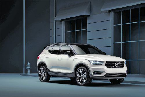Unterkühlt, wie gewohnt, hat Volvo auch den Kompakten gestylt. Aberinnen kann der XC40 durchaus kontrastreich-knallig Farbe bekennen.