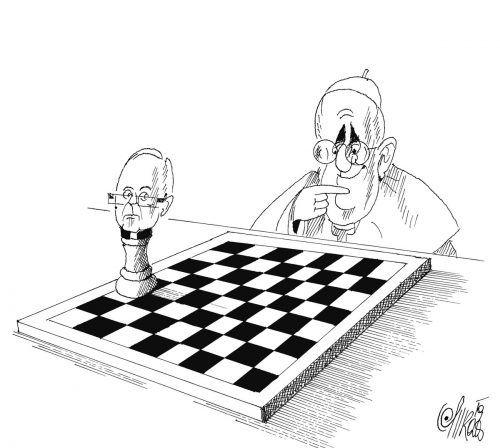 Vatikan-Schach mit Benno Elbs!