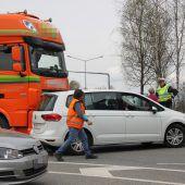 Dornbirn: Stauchaos nach Unfällen auf der Autobahn