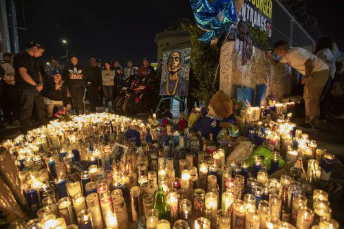 Während der Totenwache kam es zu einer Massenpanik. AFP