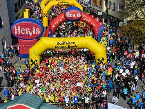 Weit über 3000 Läufer und doppelt so viele Zuschauer werden erwartet.lerch