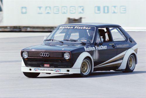 Werner Kuster aus Dornbirn war 1980 der erste Automobilcup-Sieger.RRCV/Noger