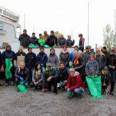 315 Kilo Müll in Lochau eingesammelt