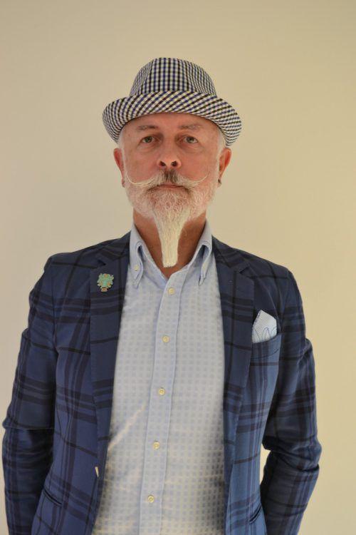Wolfgang Burtscher ist im Bereich Kunst sehr vielseitig unterwegs. bi