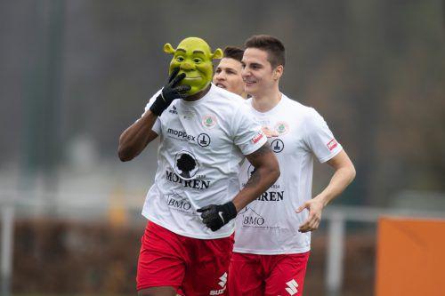 """""""Ygor, der Schreckliche"""" erzielte gegen Altachs Amateure alle vier Tore.VN-SAMS"""