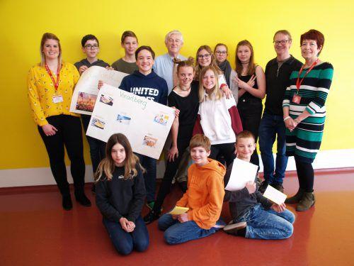 Zum Abschluss der intensiven Lernwoche präsentierten die Schüler ihre erarbeiteten Themen. SIE