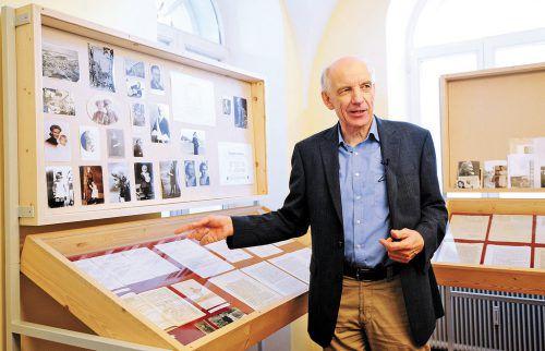 Die Schubertiade-Konzerte sollten am 29. April in Hohenems und Mitte Juni in Schwarzenberg beginnen. Gerd Nachbauer hat zudem Museen eingerichtet. VN