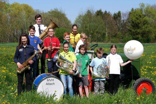 42 Jugendkapellen aus dem deutschsprachigen Raum freuen sich auf das Bezirksmusikfest in Altach (14.–16.Juni 2019). Musikverein Harmonie Altach