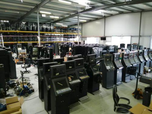533 illegale Glücksspielautomaten wurden sichergestellt. APA