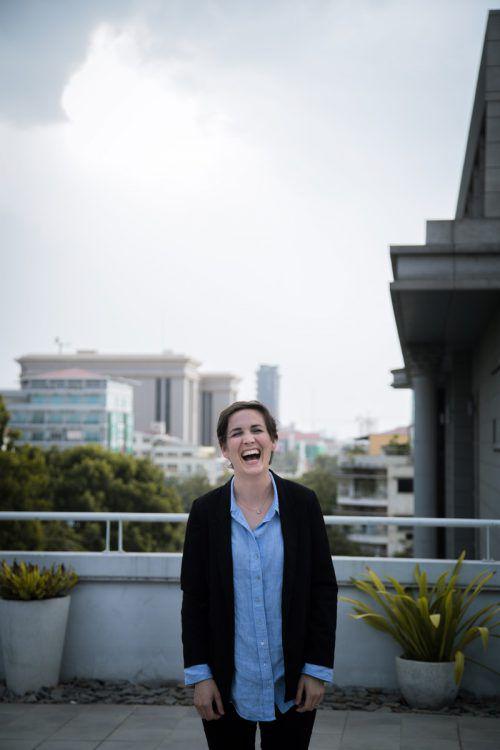 Adriana Collini ist gerade für drei Monate im kambodschanischen Phnom Penh.