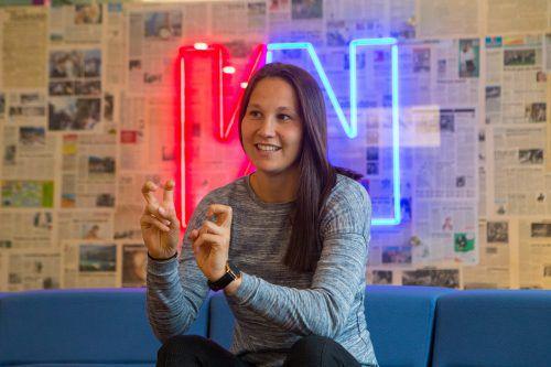 Am Ende überwiegt bei Sabrina Horvat das Positive: Noch nie sei ihr ein Abschied, so schwer gefallen wie jetzt aus Bremen.VN-Hartinger