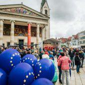 Ein Fest im Zeichen Europas