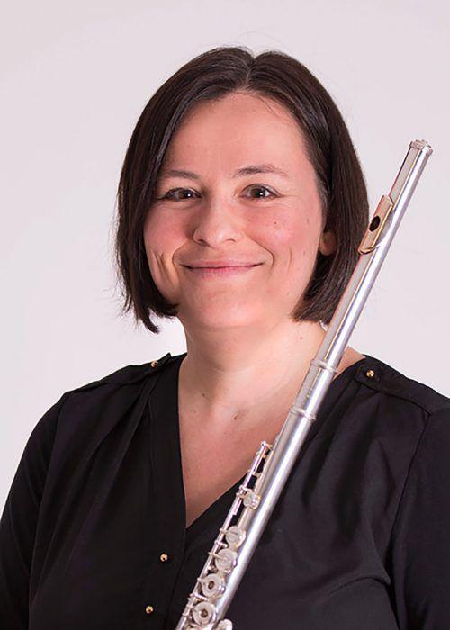 Anja Nowotny-Baldauf ist mit der Blasmusik groß geworden und hat mittlerweile auch Lehraufträge an Hochschulen. E. Lenz