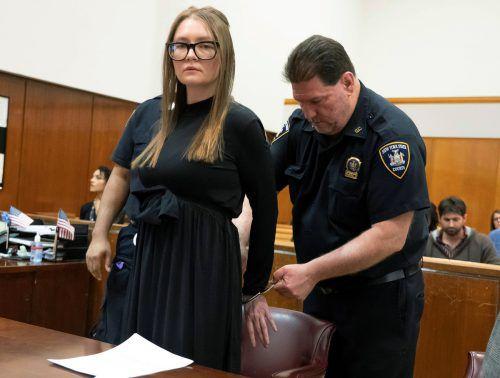 Anna Sorokin soll sich mehr als 200.000 Dollar erschlichen haben. Reuters
