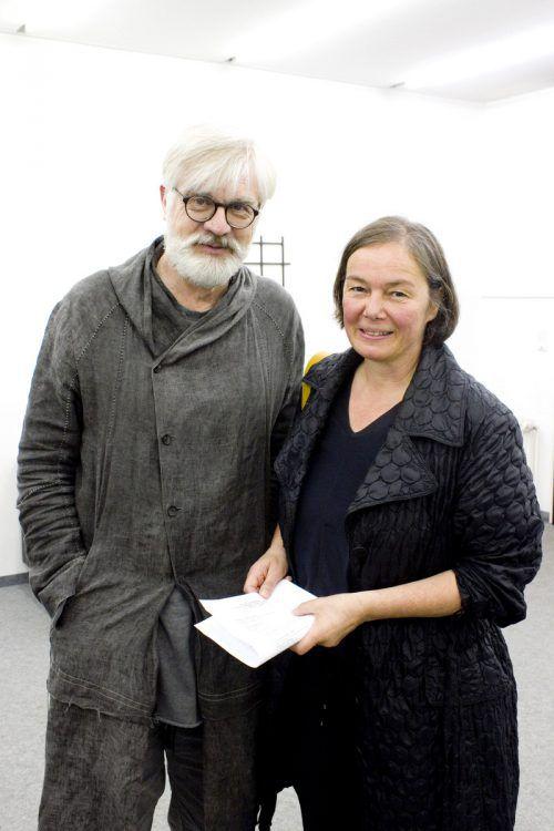 Architekt Markus Gohm und Geli Salzmann.