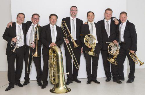 Attila Krako, Wolfgang Bilgeri, Harald Schele, Jan Ströhle, Andreas Schuchter, Zoltan Holb und Stefan Dünser sind sowohl alte als auch neue Mitglieder von Sonus Brass. Mathis