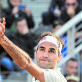 Roger Federer meldete sich in Rom verletzt ab