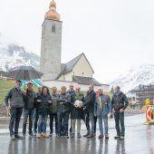 Gemeinde Lech feierte Spatenstich für neues Dorfzentrum