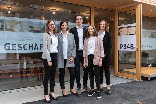Bauherrin ist die Unternehmerfamilie Dragaschnig, die 1,8 Millionen Euro in die Umsetzung investiert hat.