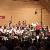 Musikverein Egg lotete die Extreme aus