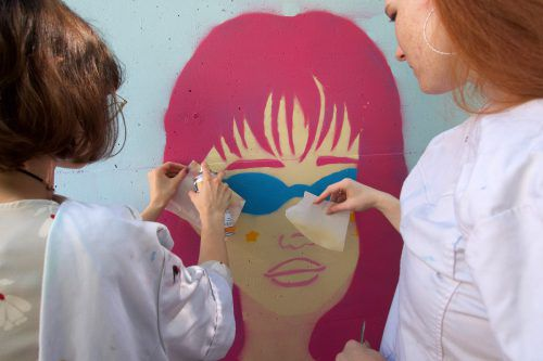 Bei den KuBi-Tagen zeigen die Schorener Gymnasiasten ihr künstlerisches Talent. lcf