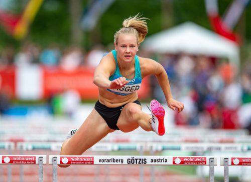 Bei ihrer vierten Teilnahme am Hypomeeting in Götzis erreichte Sarah Lagger zum dritten Mal mehr als 6000 Punkte.