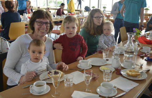 Beim Eltern-Kind-Frühstück ging es jüngst um den Muttertag.eh