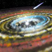 Drei Exokometen um Stern Beta Pictoris entdeckt