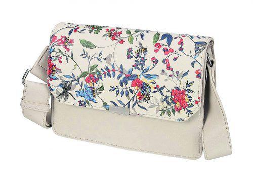 Blütenreich             Crossover-Tasche von Shoe4you, gesehen um 19,95 €.