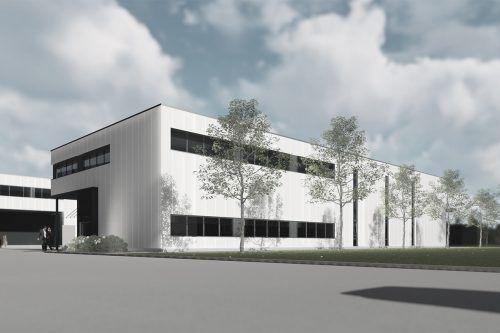 Buco-Park errichtet um eine Million Euro ein Betriebsgebäude, das von Sportbau Walser langfristig gemietet wird. BP