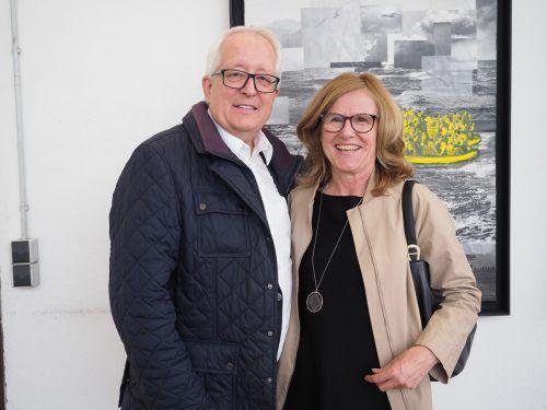Bürgermeister Michael Simma (Lochau) und Gabi Pircher.