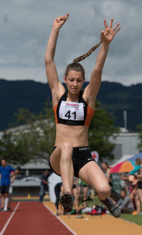 Carola Rüdisser erreichte erstmals über 4000 Punkte im Siebenkampf.VLV