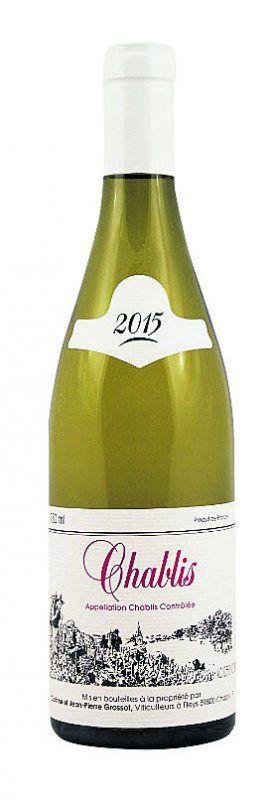 Chablis 2016, Corinne et Jean-Pierre Grossot, Fleys. Die Großeltern von Jean-Pierre haben das Weingut 1920 gegründet. Das Ziel der Familie Grossot ist es, elegante Weine zu erzeugen, in denen das Terroir zum Ausdruck kommt. Ein klassischer Chablis, jugendlich in der Nase, gelbfruchtig, mit Zitrus, grünem Gras, mit einer frischen Säure am Gaumen, salzigen, mineralischen Noten, mit einem straffen Körper und einem nachhaltigen Abgang, ein herrlicher schnörkelloser Wein. Gesehen bei: Weinstein, Dornbirn, 25 Euro