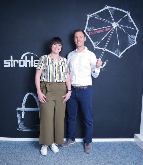 Conny Domig-Ströhle wird alleinige Geschäftsführerin der Ströhle GmbH. Christian Ströhle geschäftsführender Gesellschafter von Schirmmacher.com. Ströhle