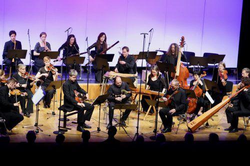 Das Barockorchester Concerto Stella Matutina brachte Musiker aus Volksmusik und Klassik auf allerhöchstem Niveau zusammen. Silvia Thurnher