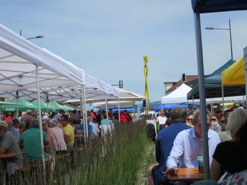 Das Brückenfest beginnt um 10.30 Uhr am Sonntag. ha