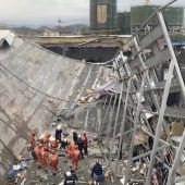 Nach Hauseinsturz viele Opfer in China