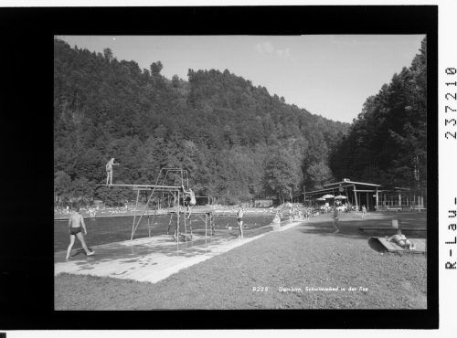 Das Freibad ist seit Jahrzehnten eine Institution.