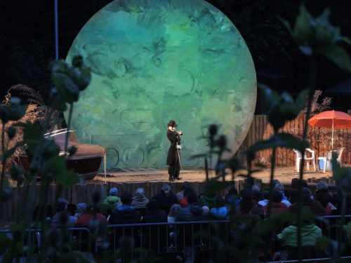 """Das Freiluft-Theater """"Shakespeare am Berg"""" geht in die fünfte Runde. vn"""