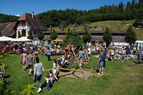 Das Frühlingsfest ist Jahr für Jahr ein Highlight am besonderen Bauernhof. Lebenshilfe