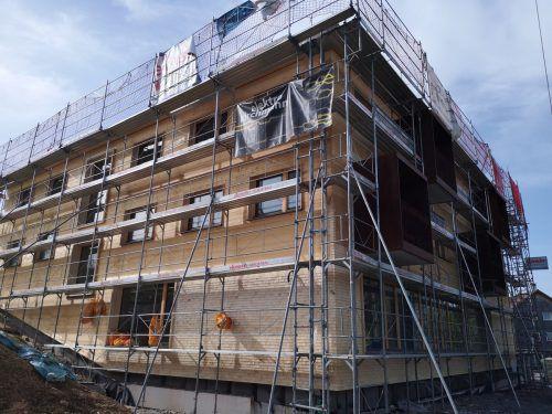 Das Haus für ältere und pflegebedürftige Menschen wird bis Jahresende fertig. me