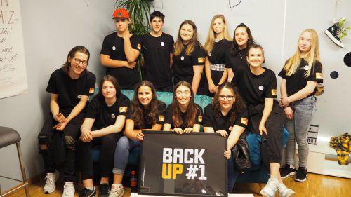 Das Jugendteam des Backup #1 freut sich über den Neustart. egle
