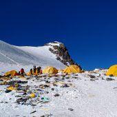 Reinigungsaktion auf dem Mount Everest