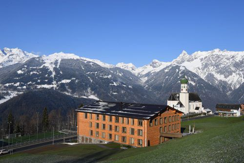Das neue Haus St. Anna in Bartholomäberg bietet Platz für 33 pflegebedürftige ältere Menschen. Stiftung Liebenau