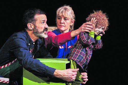 """Das neue Projekt von Theater """"Blau und Bernetta"""" ist inspiriert vom preisgekröntenBilderbuch """"DAS machen?"""" und richtet sich an Kinder ab 10 Jahren. ingo hoehn"""